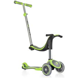 Globber 4-in-1 Plus 3 Wheel Scooter - Lime Green