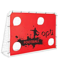 Opti 7 x 5ft Football Training Target Goal and Rebounder