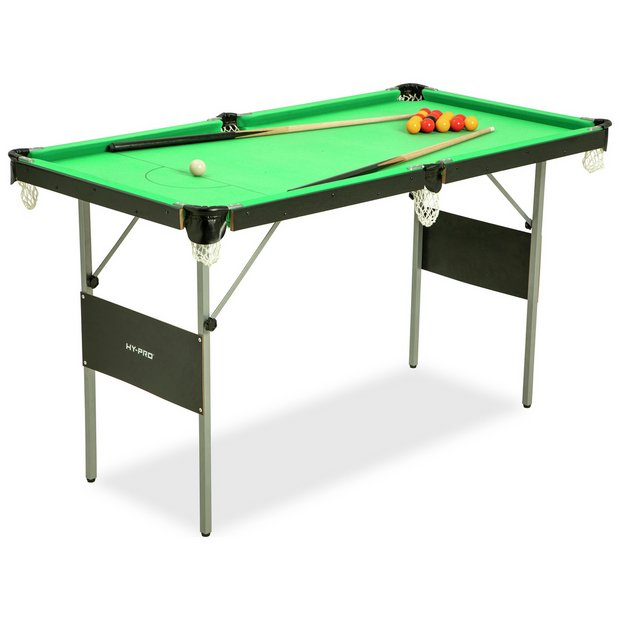 Buy Hy-Pro Snooker and Pool Table - 4ft 6in | Pool tables | Argos