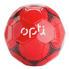 Opti Size 5 Football - Red