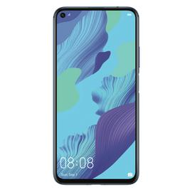 SIM Free Huawei Nova 5T 128GB Mobile Phone - Blue