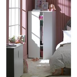 Argos Home Pod 2 Door Short Wardrobe - Blackboard