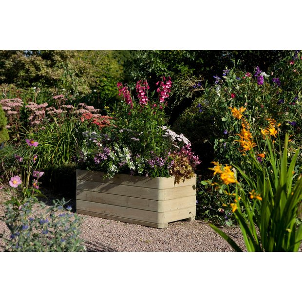 buy rowlinson marberry rectangular planter at. Black Bedroom Furniture Sets. Home Design Ideas