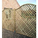 more details on Elite St Meloir Lattice Trellis - 1.8m - Pack of 4.