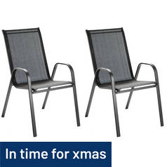 Argos Home Pack of 2 Sicily Chairs