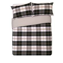 Heart of House Chester Woven Check Bedding Set - Kingsize