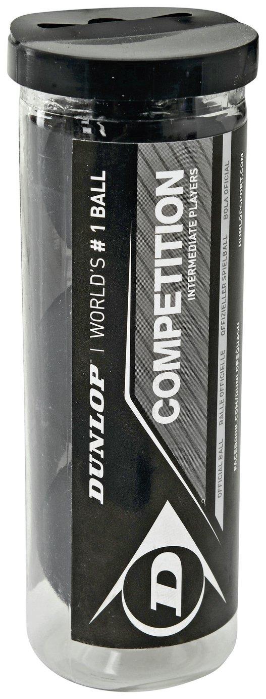 Dunlop Competition 3 Squash Balll Tube