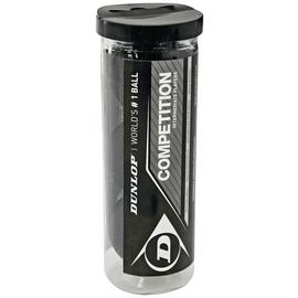 Dunlop Competition 3 Squash Ball Tube