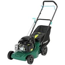 McGregor 41cm Hand Push Petrol Rotary Lawnmower - 129cc