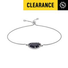 6366e95e9 ... low cost revere gold colour blue sandstone cz bracelet e7833 df40e low  cost argos ...