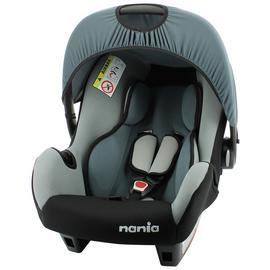 Nania Beone SP Group 0+ Baby Seat - Black and Grey