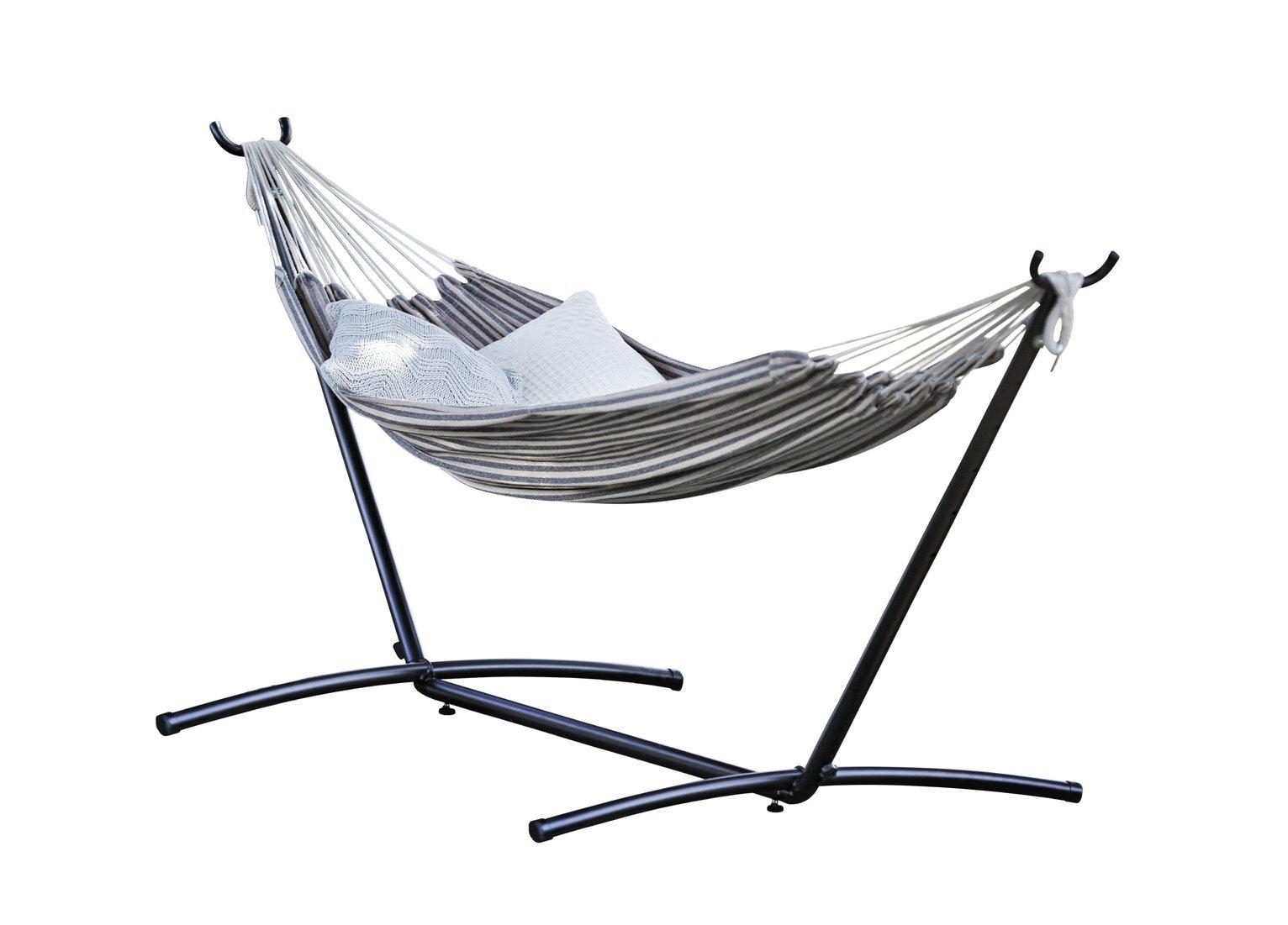 collection metal hammock hammocks and swing seats   argos  rh   argos co uk