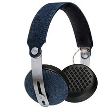 Marley Rise Bluetooth On-Ear Headphones - Denim