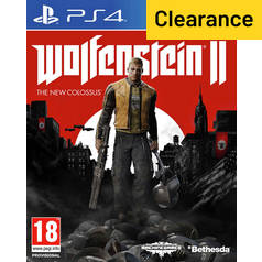 Wolfenstein II The New Colossus PS4 Game