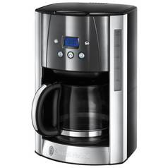 Russell Hobbs Luna Filter Coffee Machine - Grey
