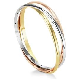 Buckley London 3 Tone Russion Trio Bangle