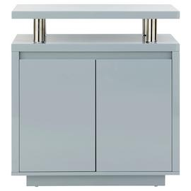 Polar 2 Door Sideboard - Grey Gloss