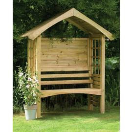 Forest Cadiz Wooden 2 Seater Arbour