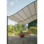 more details on Greenhurst Wall Mounted Garden Gazebo 3m.