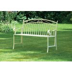 more details on Versailles Bench Antique Cream.