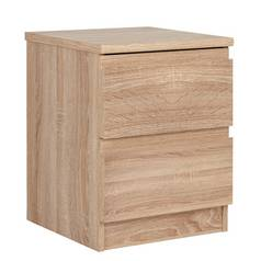 Avenue 2 Drawer Bedside Chest