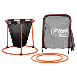 Football Flick Urban Skills Training Net, Goal and Hoop Set