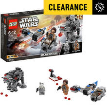 LEGO Star Wars Speeder vs First Order Microfighters - 75195
