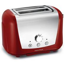 Morphy Richards 222254 Accents 2 Slice Dome Toaster - Red