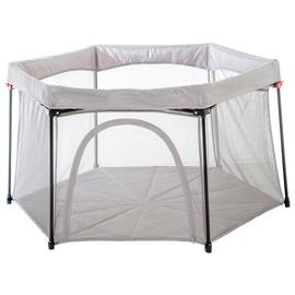 Koo-di Foldaway Playpen with Base - Grey