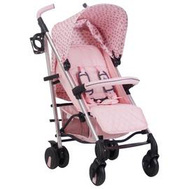 My Babiie MB51 Katie Piper Stroller - Pink Hearts