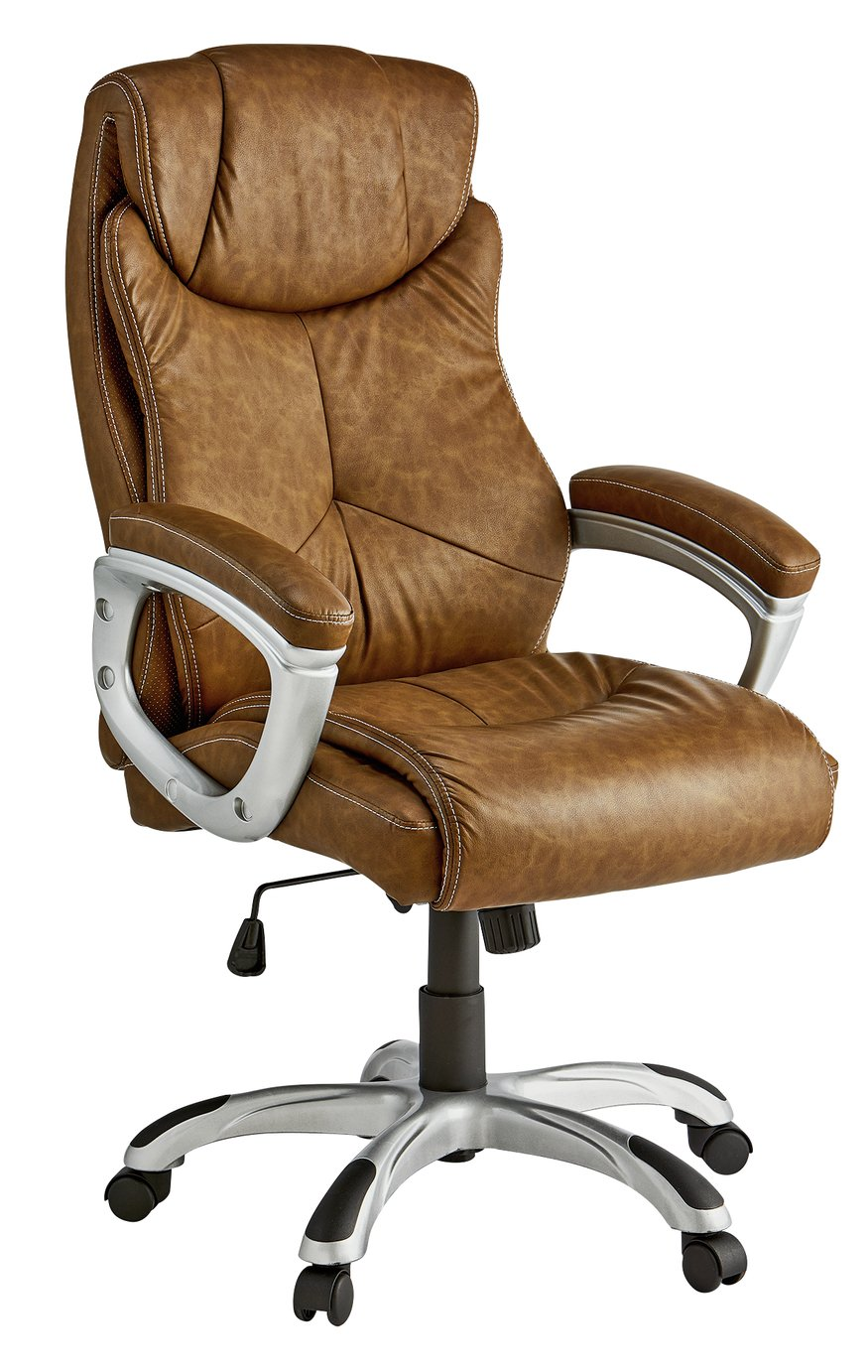 X Rocker Executive Office Chair with Sound - Brown  sc 1 st  Argos & X Rocker Gaming chairs | Argos