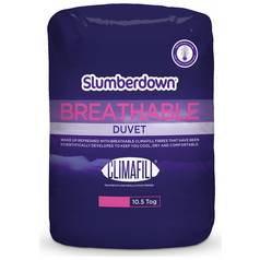 Slumberdown Breathable 10.5 Tog Duvet - Double