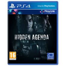 Hidden Agenda - Playlink PS4 Game