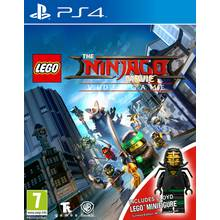 LEGO Ninjago Movie PS4 Game Mini Figure Edition