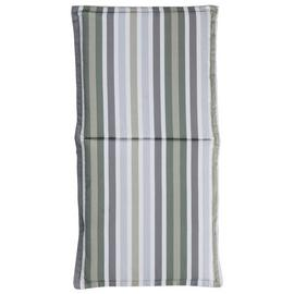 Argos Home Garden Chair Green Stripe Cushion
