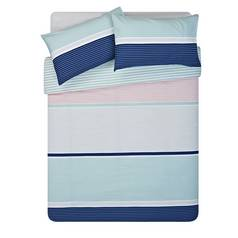 Argos Home Sanna Stripe Bedding Set - Double