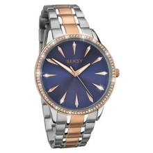 Seksy Ladies Two Tone Stainless Steel Bracelet Watch