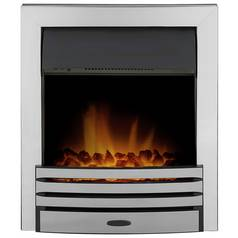 Adam Eclipse 2kW Electric Inset Fire - Chrome