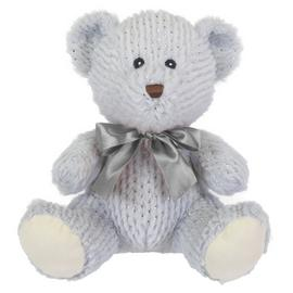 10inch Bear Soft Toy - Grey