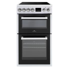 New World NWLS50TEW Twin Electric Cooker - White