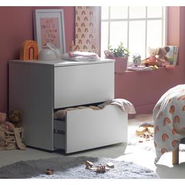 Argos Home Pod 2 Drawer Low Chest of Drawers - Blackboard