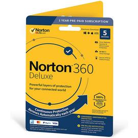 Norton 360 Deluxe Protection - 5 Devices