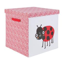 Argos Home Wildlife Wonders 40cm Box with Lid - Ladybird