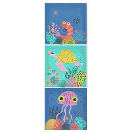 Arthouse Ocean Trio Wall Art