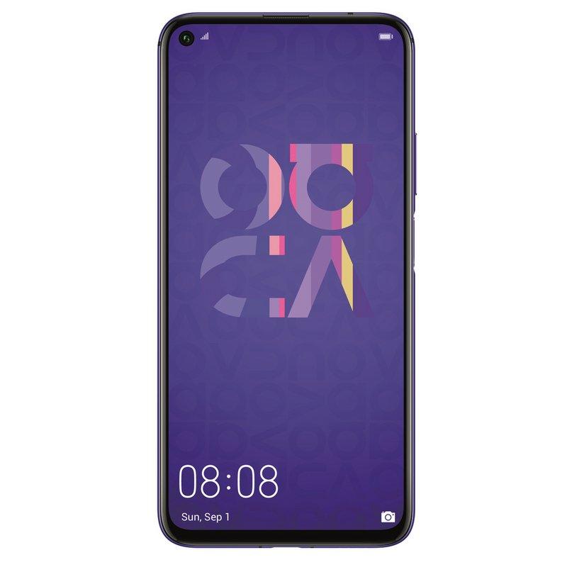 SIM Free Huawei Nova 5T 128GB Mobile Phone - Purple from Argos