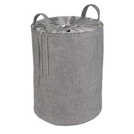 Argos Home Drawstring Laundry Bag - Grey