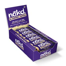 Nakd Blueberry Muffin Snack Bars x 18