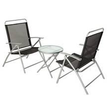 HOME Atlantic 2 Seater Metal Bistro Set