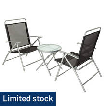 Argos Home Atlantic 2 Seater Metal Bistro Set