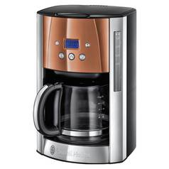 Russell Hobbs Luna Filter Coffee Machine - Copper